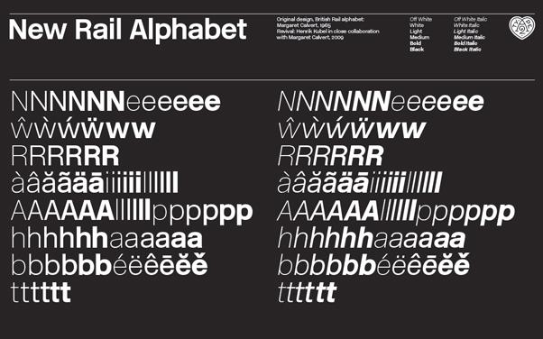 newrailalphabet