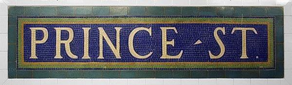 prince street 1917