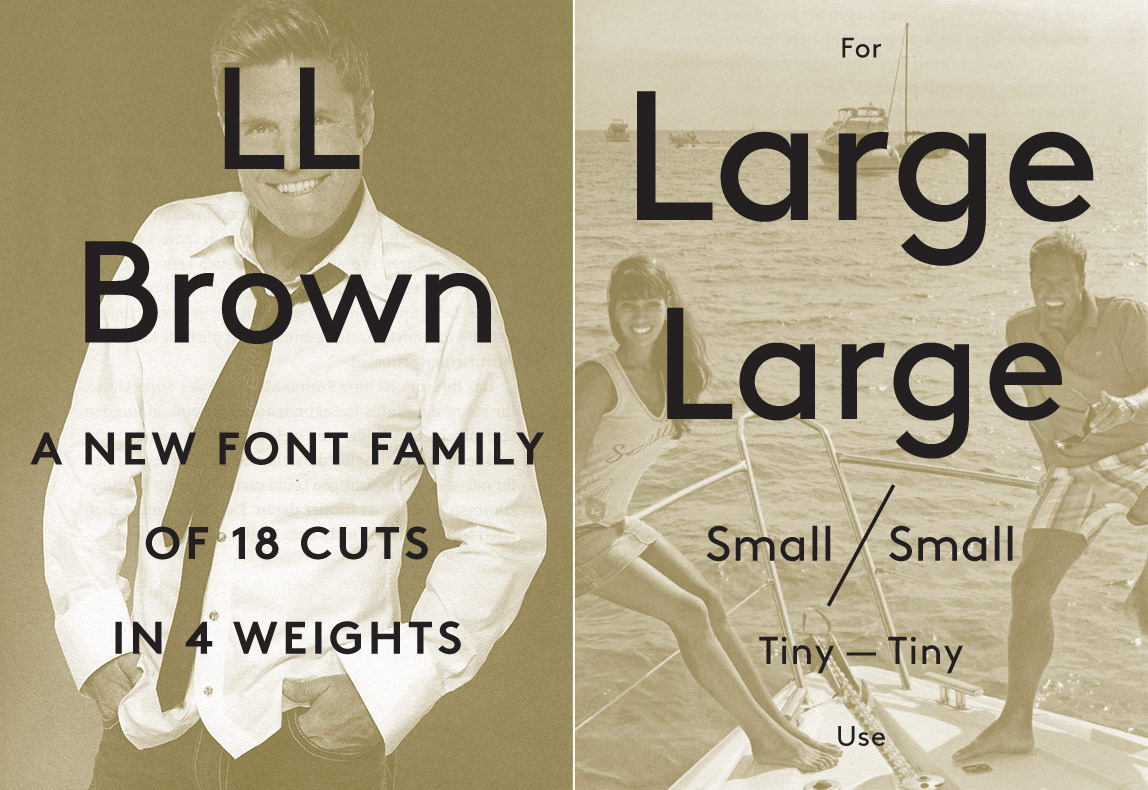Lineto 字体 Brown