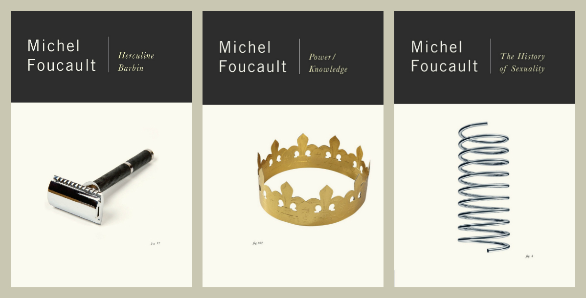 米歇尔·福柯作品封面设计。图:Jacket Mechanical