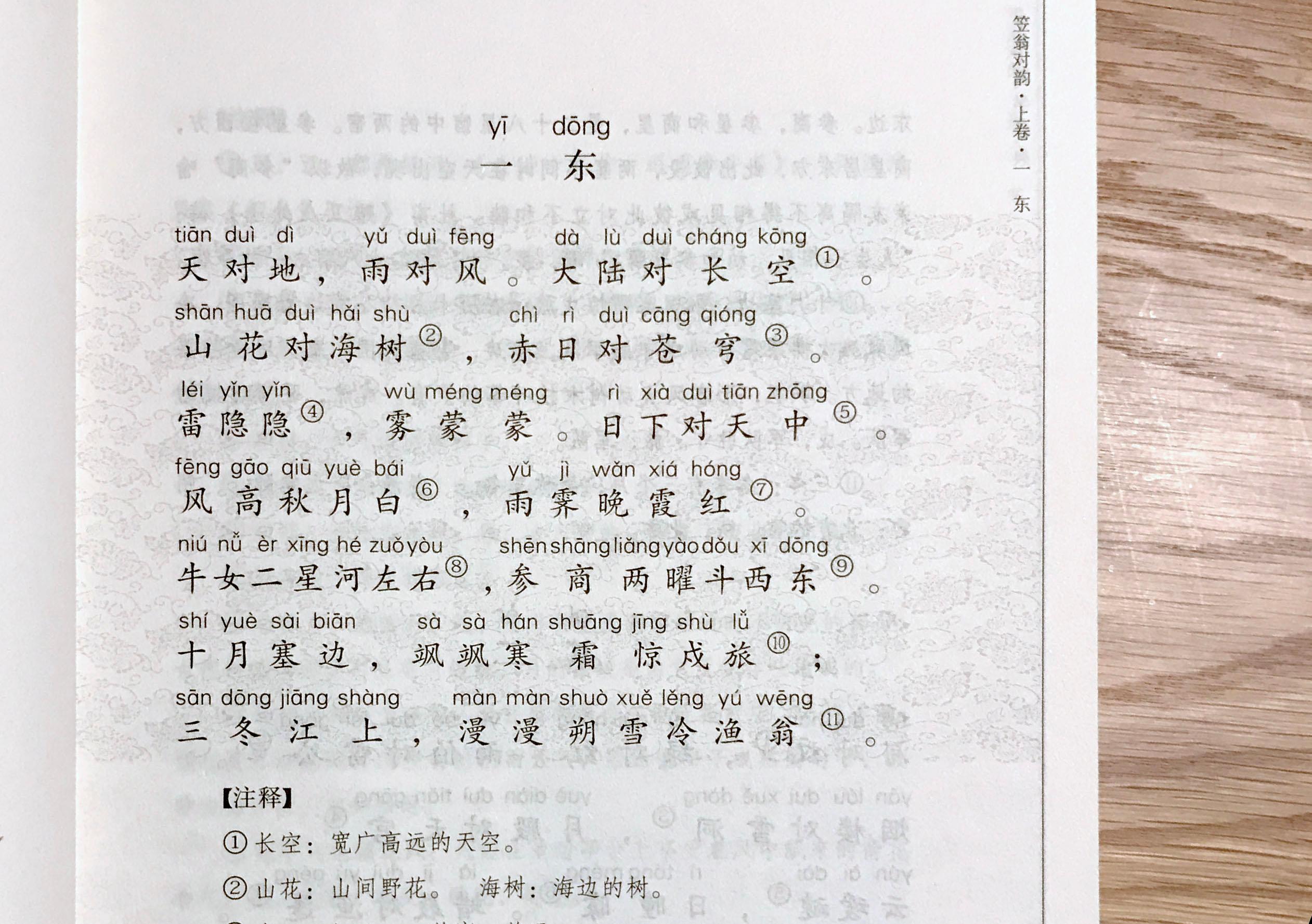 pinyin-liwenduiyun