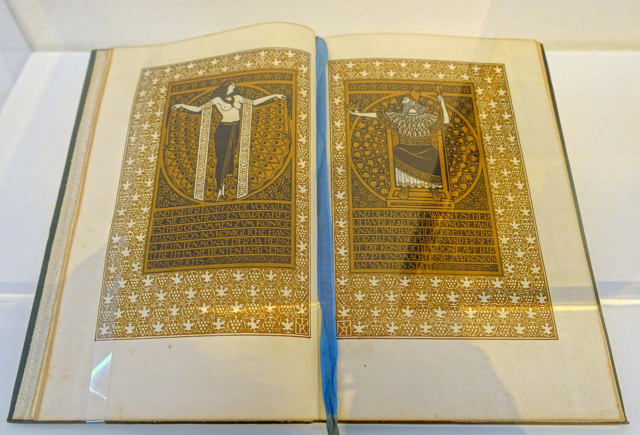 Book of Esther Ernst-Ludwig Presse