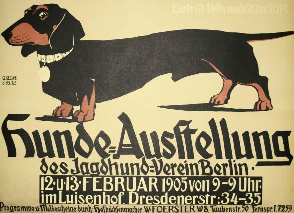 Belwe Hunde-Ausstellung